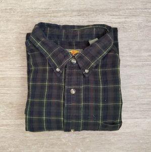 Dark Flannel Shirt From Bass Pro Shops